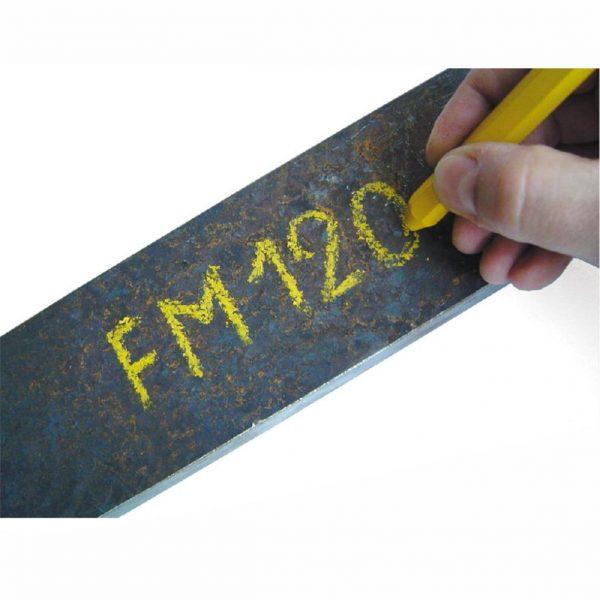 Signierkreide für Metall und Gummi