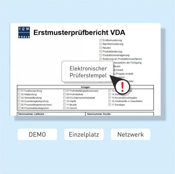 CAD Erstmusterstempel für den EMPB