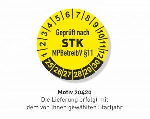 STK-Prüfplakette