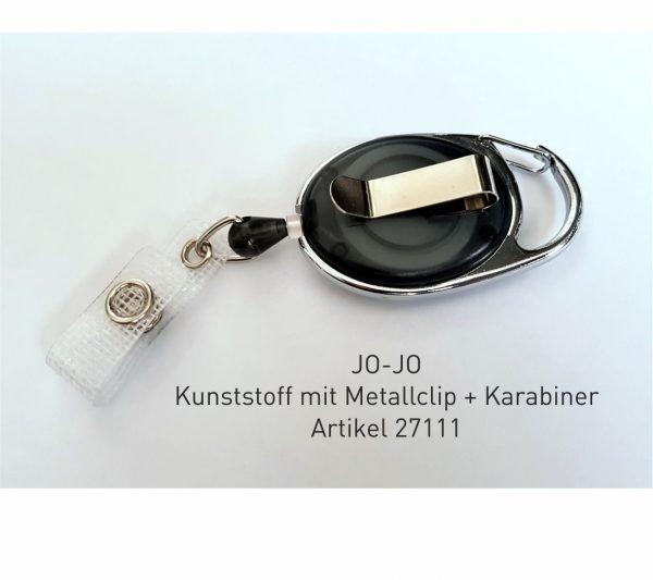 Jo Jo Clip für die QS