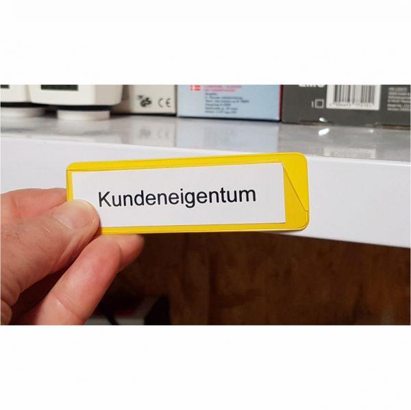 Etikettenhalter magnetisch