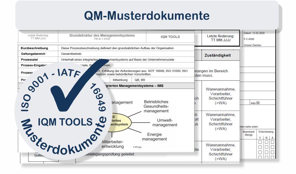 Qm Dokumentation Iso 9001 Mit Mustervorlagen Optimieren Iqm Tools